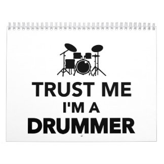 Trust me I'm a Drummer Calendar
