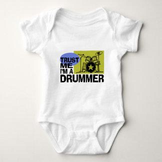 Trust Me I'm A Drummer Infant Creeper