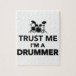 Trust me I'm a Drummer Jigsaw Puzzles