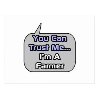 Trust Me .. I'm a Farmer Postcard