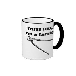 Trust me I'm a farrier. Coffee Mugs