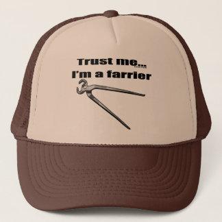 Trust me I'm a farrier. Trucker Hat