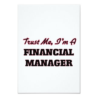 Trust me I'm a Financial Manager Announcement