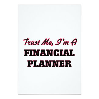 Trust me I'm a Financial Planner Invitations
