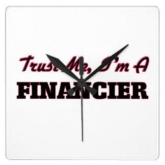 Trust me I'm a Financier Wall Clocks