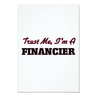 Trust me I'm a Financier Invitations