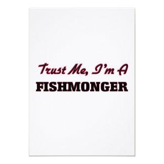 Trust me I'm a Fishmonger 5x7 Paper Invitation Card