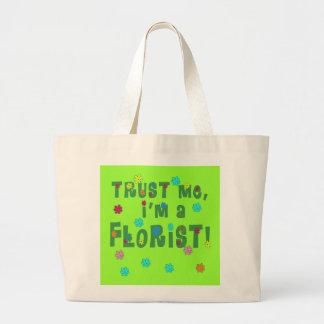 Trust Me I'm a Florist Products Canvas Bags