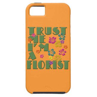 Trust Me, I'm a Florist with Hibiscus iPhone SE/5/5s Case