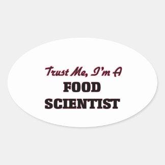 Trust me I'm a Food Scientist Sticker