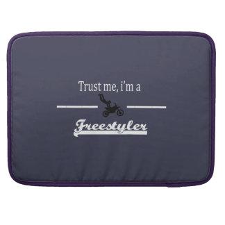 trust me i'm a freestyler MacBook pro sleeve