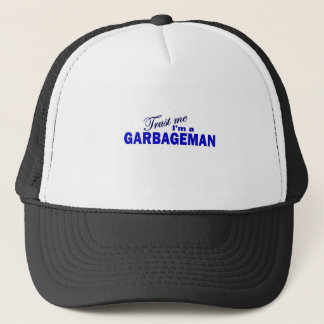 Trust Me I'm a Garbageman Trucker Hat