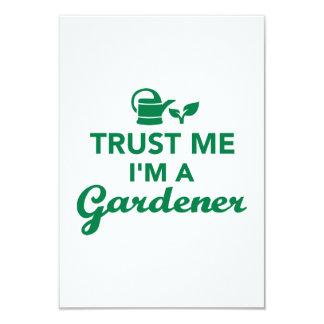 Trust me I'm a Gardener Custom Invitations