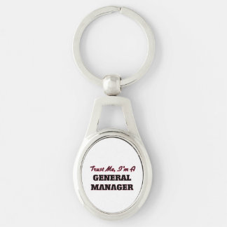 Trust me I'm a General Manager Keychain