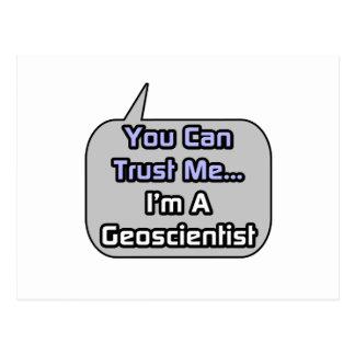 Trust Me .. I'm a Geoscientist Postcard