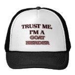 Trust Me I'm A GOAT HERDER Mesh Hat