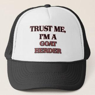 Trust Me I'm A GOAT HERDER Trucker Hat
