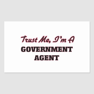 Trust me I'm a Government Agent Stickers