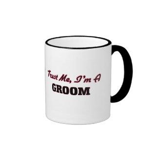 Trust me I'm a Groom Coffee Mugs