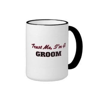 Trust me I'm a Groom Mugs