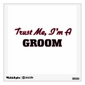 Trust me I'm a Groom Wall Skins