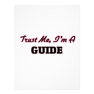 Trust me I'm a Guide Flyers