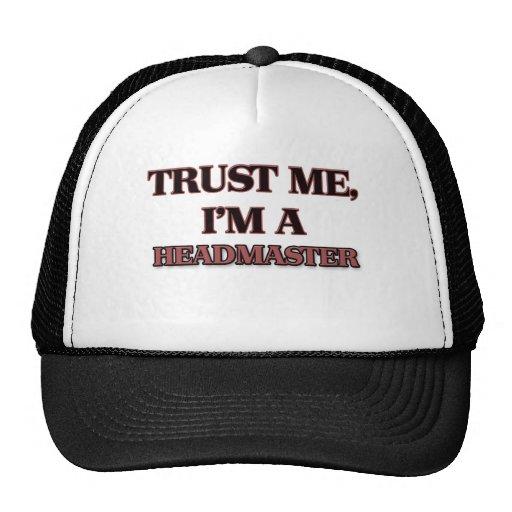 Trust Me I'm A HEADMASTER Trucker Hat