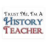 Trust Me, I'm A History Teacher Postcard