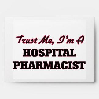 Trust me I'm a Hospital Pharmacist Envelope