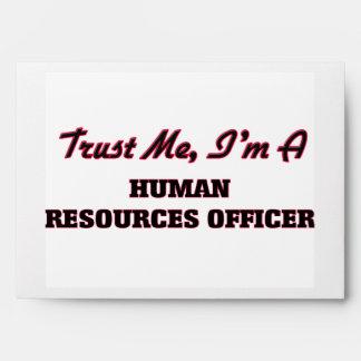 Trust me I'm a Human Resources Officer Envelope