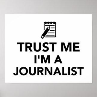 Trust me I'm a Journalist Print