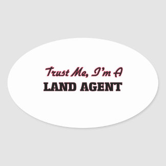 Trust me I'm a Land Agent Stickers
