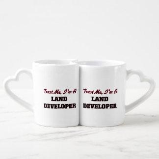 Trust me I'm a Land Developer Couples' Coffee Mug Set
