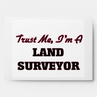 Trust me I'm a Land Surveyor Envelopes