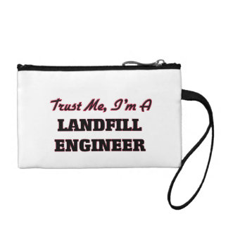 Trust me I'm a Landfill Engineer Coin Purses