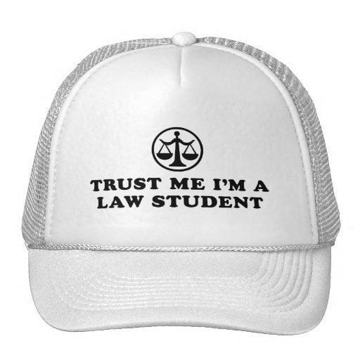 Trust Me I'm A Law Student Hats