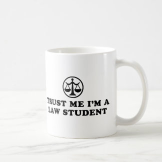 Trust Me I'm A Law Student Mugs