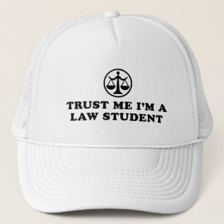 Trust Me I'm A Law Student Trucker Hat