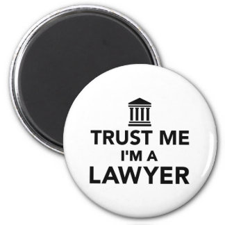 Trust me I'm a Lawyer 2 Inch Round Magnet