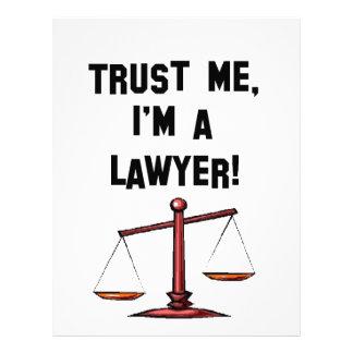 Trust me Im a lawyer Letterhead