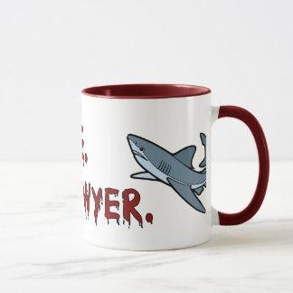 Trust Me I'm a Lawyer Shark Mug