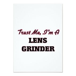 Trust me I'm a Lens Grinder 5x7 Paper Invitation Card