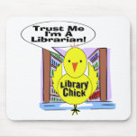 Trust Me I'm A Librarian Mouse Pad