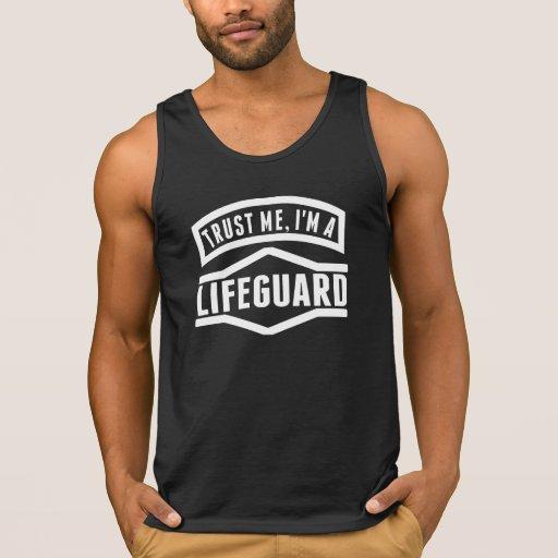 Trust Me I'm A Lifeguard Tanktops Tank Tops, Tanktops Shirts