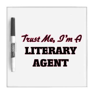 Trust me I'm a Literary Agent Dry Erase Board