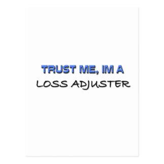 Trust Me I'm a Loss Adjuster Post Card