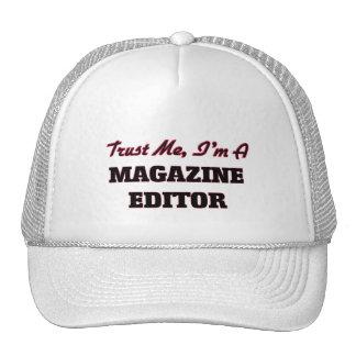 Trust me I'm a Magazine Editor Trucker Hat
