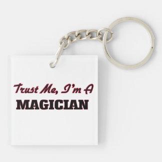 Trust me I'm a Magician Square Acrylic Key Chains