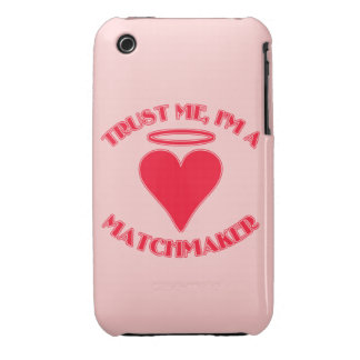 Trust Me I'm a Matchmaker iPhone 3 Cases