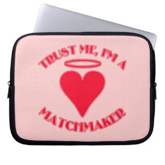Trust Me I'm a Matchmaker Laptop Sleeve